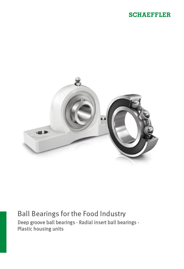 Ball Bearings for the Food Industry