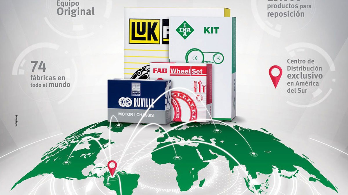 Catalogos para Mercado Suramericano