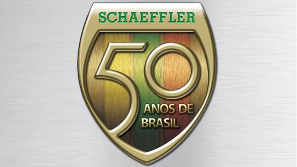A Schaeffler comemora 50 anos de Brasil. Uma história que teve início no País com a instalação da Rolamentos Schaeffler do Brasil.