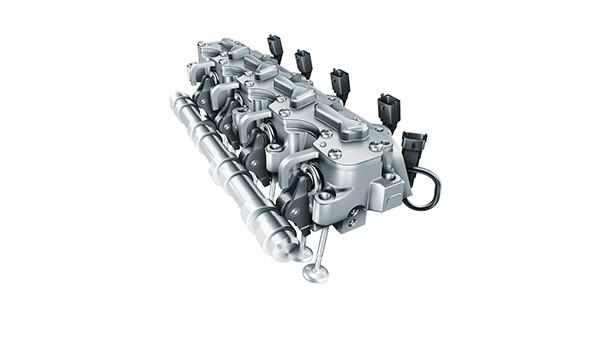 A Schaeffler lança no mercado o primeiro sistema totalmente variável de atuação eletro-hidráulica de válvulas. Em combinação com downsizing, o sistema permite reduzir o consumo de combustível e as emissões de CO2 em até 25%.