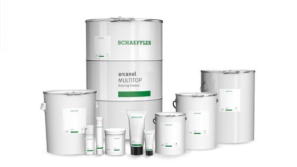 Las grasas de primera calidad como la línea Arcanol de Schaeffler cubren prácticamente todos los campos de aplicación.