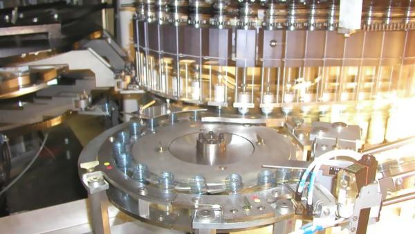 Roda estrela de transferência em máquinas SBM