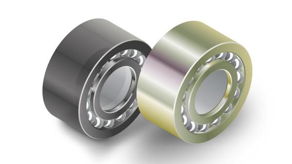 Los rodamientos con recubrimiento proporcionan protección contra la corrosión.