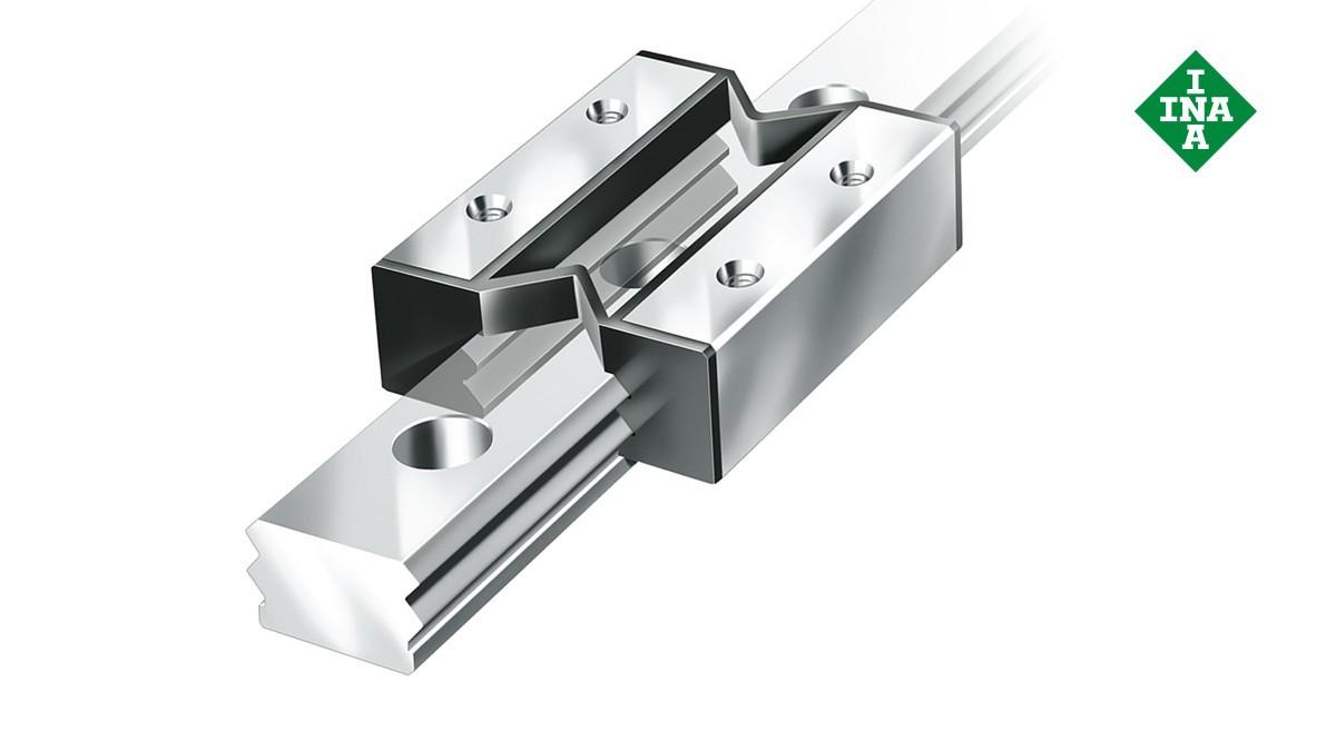 Sistemas de orientação lineares da Schaeffler: Sistemas lineares miniatura de fricção
