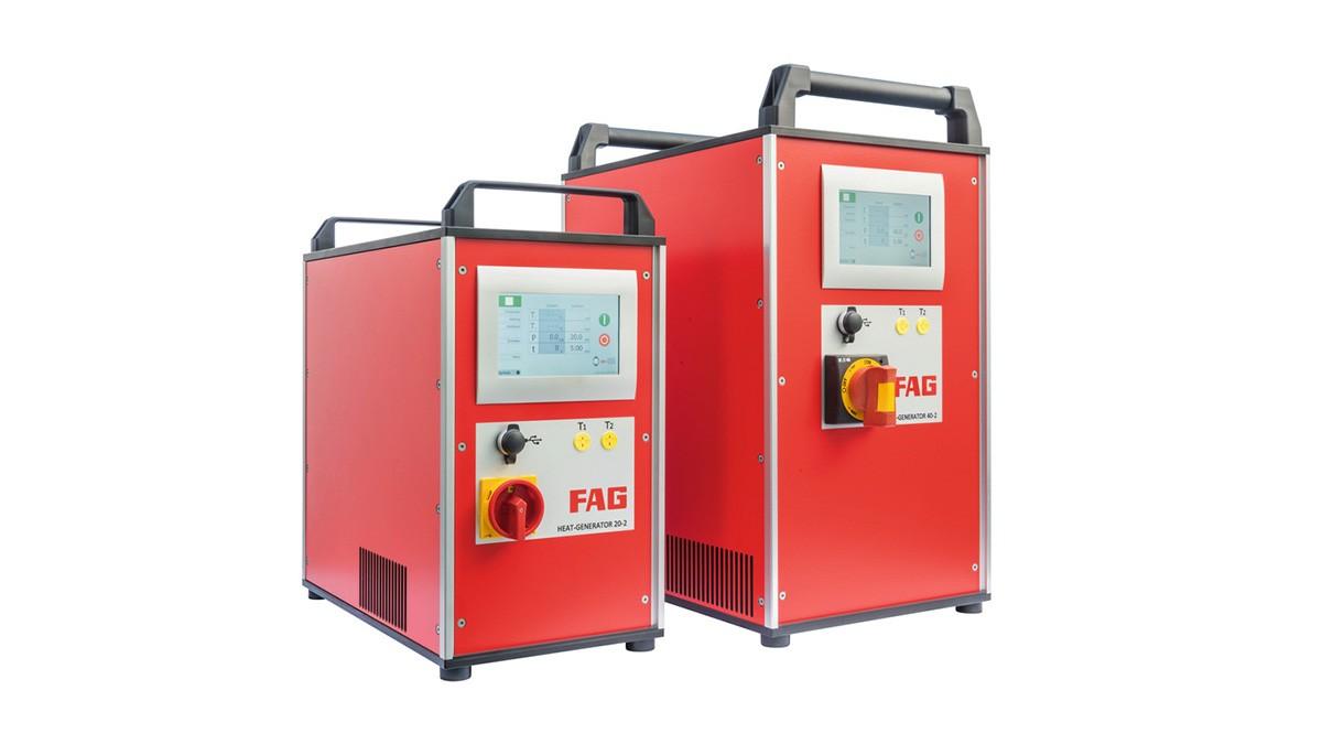 Produtos de manutenção Schaeffler: Dispositivos de indução com técnica de média frequência