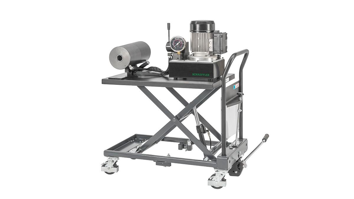 Produtos de manutenção Schaeffler: Unidade hidráulica móvel