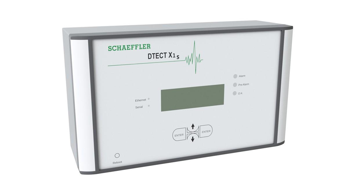 O DTECT X1 s é um sistema de monitorização online flexível que serve para monitorizar os componentes rotativos em máquinas e equipamentos.