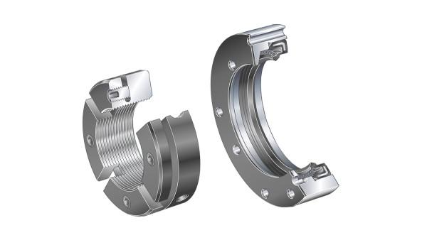 Rolamentos e casquilhos de fricção Schaeffler: Anéis de vedação / Porcas estriadas de precisão