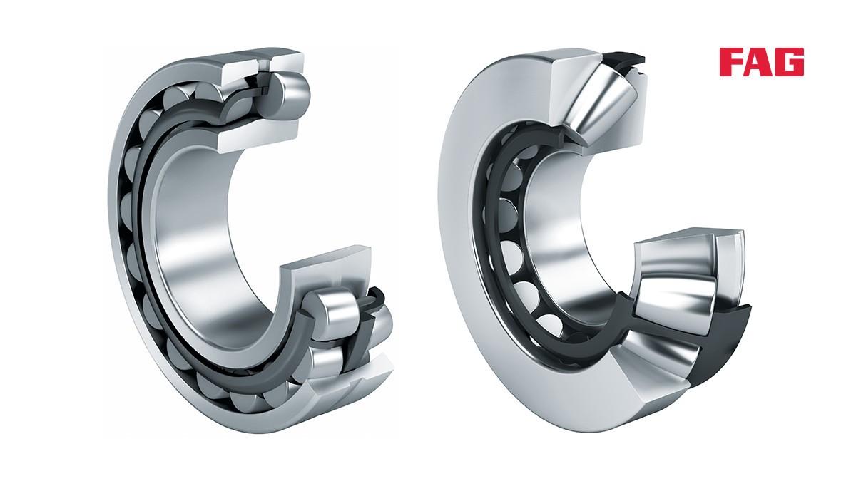 Rolamentos e casquilhos de fricção Schaeffler: Rolamentos oscilantes de rolos