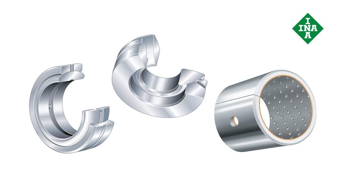 Rodamientos y casquillos de fricción Schaeffler: Casquillos de fricción que requieren mantenimiento
