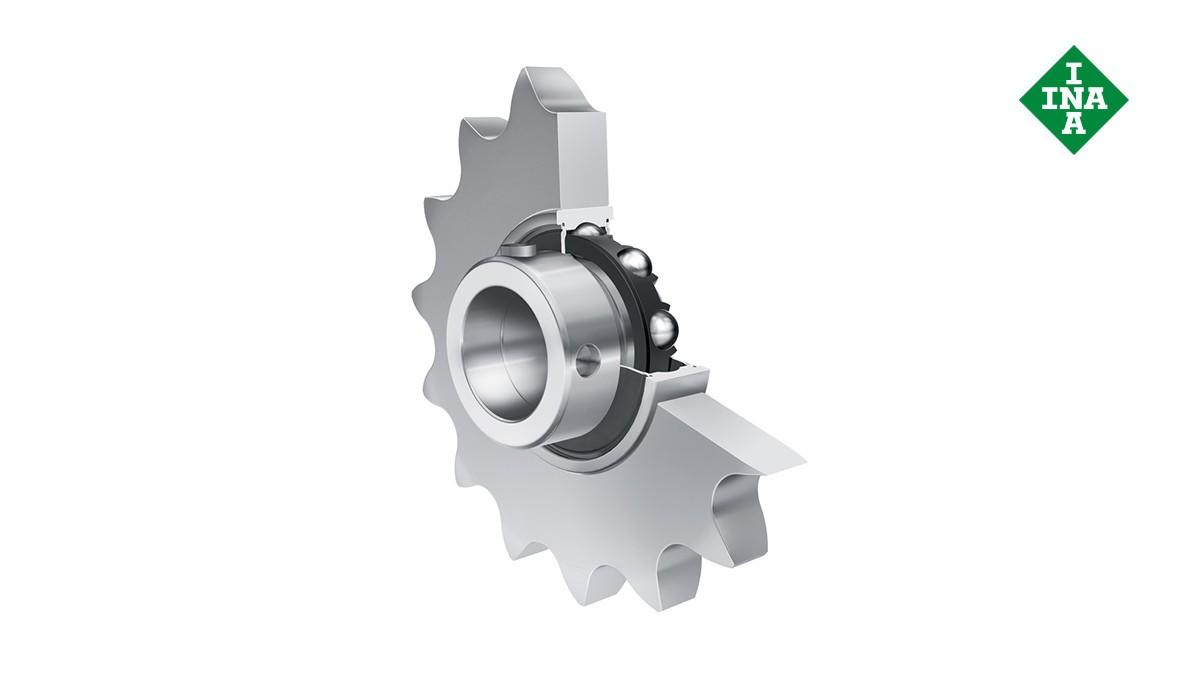 Rolamentos e casquilhos de fricção Schaeffler: Rodas tensoras para correntes de rolos