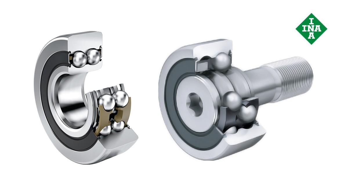 Rolamentos e casquilhos de fricção Schaeffler: Rolos-guia, rolos de apoio e rolos de came