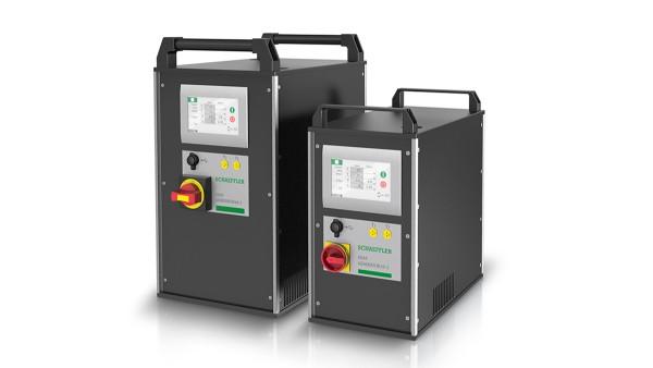 Unidades de aquecimento por indução com técnica de frequência média